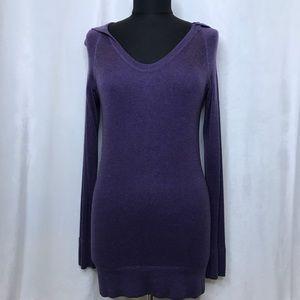 Lululemon purple cashmere blend pullover sweater